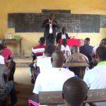 5. Treffen des derzeit laufenden Projekts in Guinea