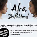 """""""Afro Deutschland – Rassismus gestern und heute"""""""